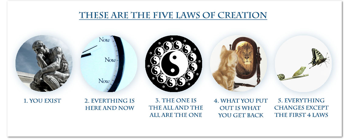 The 5 Laws of Creation